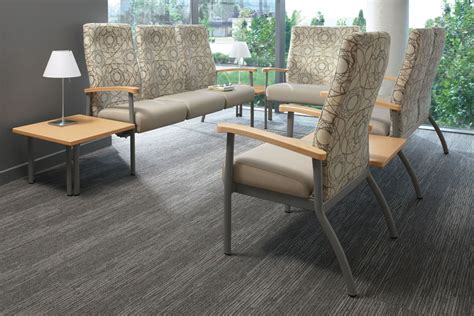 the series includes individual chairs for patient rooms
