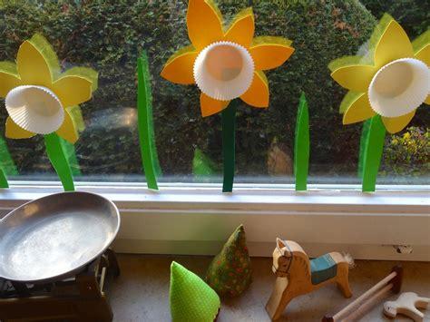 Frühlingsblumen Basteln Fürs Fenster by Fr 252 Hlingsblumen F 252 Rs Fenster Fr 252 Hling