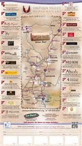 Umpqua Valley Winegrowers   WINE TOUR MAP