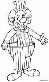 Clown Coloring Clowns Ausmalbilder Coloriage Ausdrucken Zum Cool2bkids Printable Circus Riscos Cirque Pintura sketch template