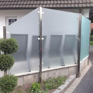 die 25 besten ideen zu sichtschutz glas auf pinterest With whirlpool garten mit balkon wind und sonnenschutz