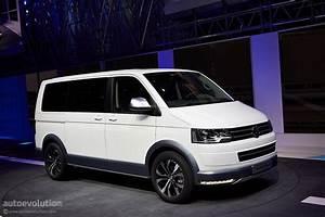 Volkswagen Shows Off Its Multivan Alltrack In Geneva  Live