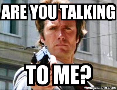Who You Talking To Meme - meme personalizado are you talking to me 5871252