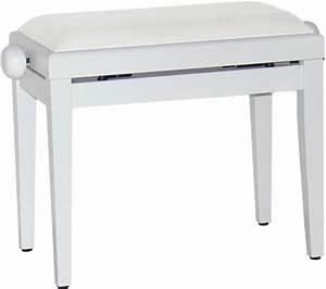 Möbelfolie Weiß Matt : steinbach klavierbank in weiss matt klavierbank pianobank pianostuhl stuhl bank hocker ~ Eleganceandgraceweddings.com Haus und Dekorationen
