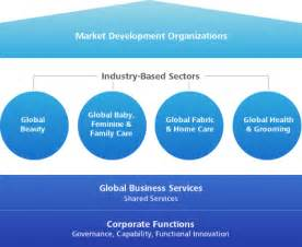 Global Business Services Organization Structure