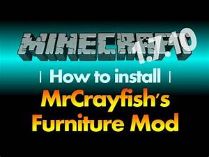 How To Install MrCrayfish39s Furniture Mod 1710 For