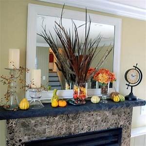 46 great thanksgiving mantel decorating ideas shelterness