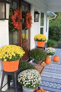 20, Beautiful, Front, Door, Flower, Pots, For, Cheerful, House