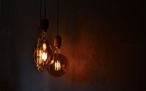 wallpaper  light bulbs electricity