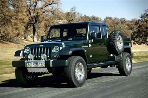 jeep concept truck gladiator jeep gladiator concept hiconsumption