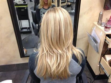 Platinum Blonde Hair With Butterscotch Lowlights/golden