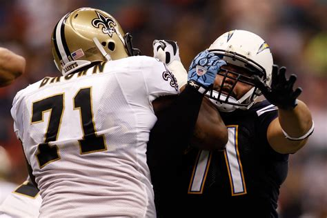 Antonio Garay In San Diego Chargers V New Orleans Saints