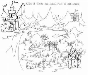 Image Gallery near far worksheets preschool