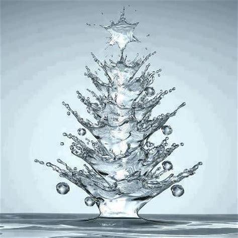 add to xmas tree water tree shaped water drop resapiens