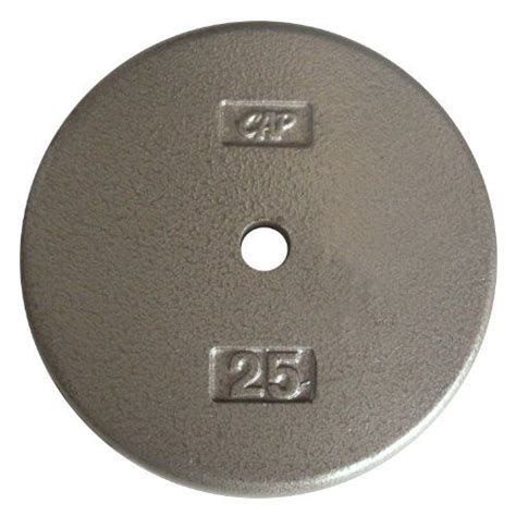 thesecap barbell standard  weight plate    pound gray cap