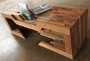 Design Brigade Unveil Reclaimed Wood Table From Coney