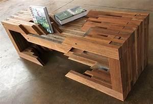 design brigade unveil reclaimed wood table from coney With building a reclaimed wood table