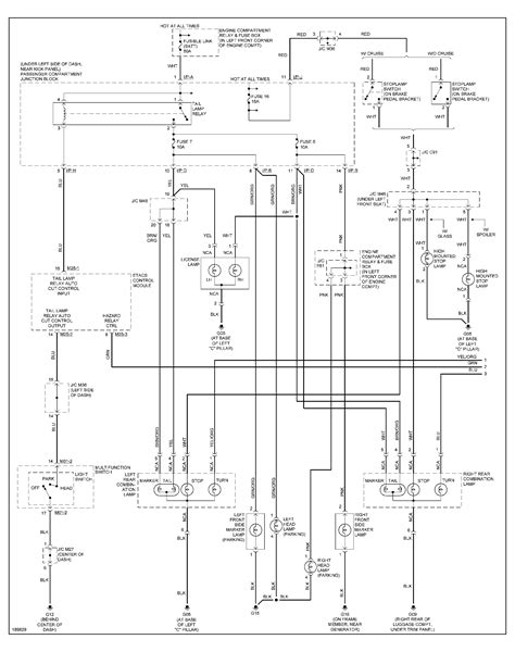 Need Diagram The Wiring Harness From Head Light