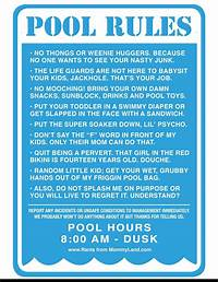 pool rules sign Swimming Pool Rules Signs | Pools | Pinterest | Swimming ...