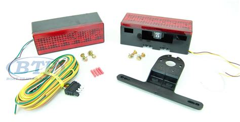Led Boat Trailer Lights Review by Led Submersible Boat Trailer Light Kit Low Profile