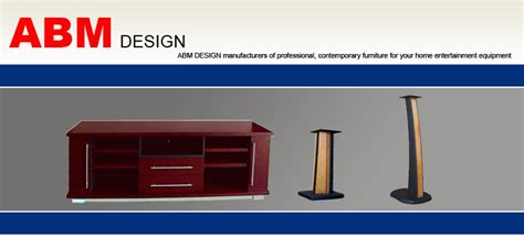 ABM Designs | Gallery | TV Stands :: Speaker Stands :: LCD ...