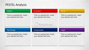 6 pestel component slide design for powerpoint slidemodel With pestel analysis template word