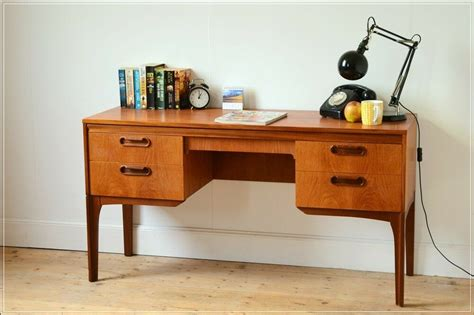 desk teak mid century vintage danish design william