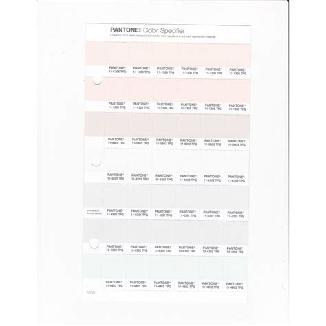 pantone   tpg lily white replacement page fashion