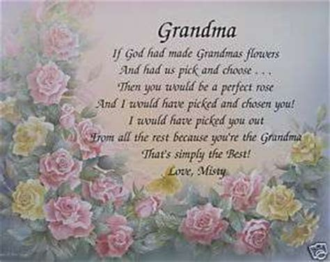 passed away quotes grandmother