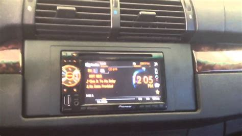 bmw   double din touchscreen ipod iphone bluetooth