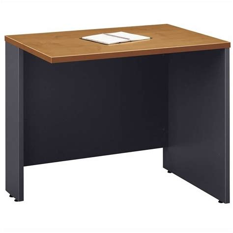 bush business series c natural cherry u shaped desk