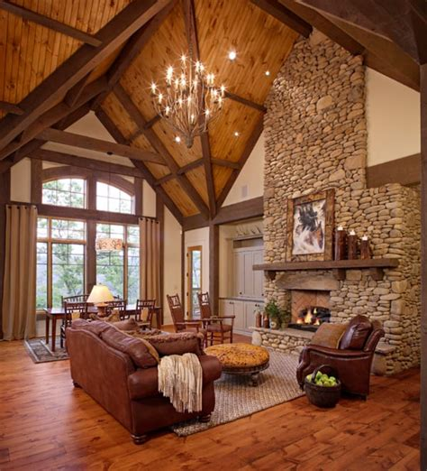 Modern Rustic Living Room Pictures by 55 Awe Inspiring Rustic Living Room Design Ideas