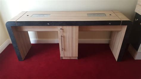 nail desk for sale nail table rem concorde 2 position nail desk 60 off price