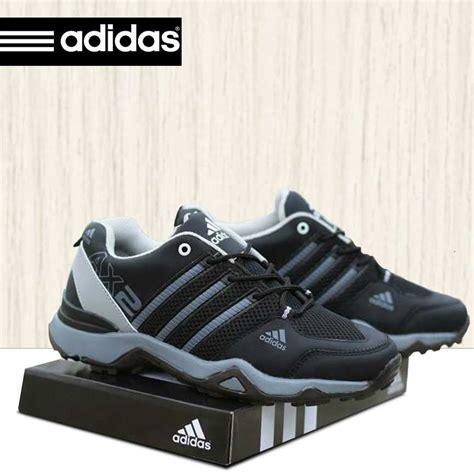sepatu sport adidas ax2 hitam abu abu adax003 omsepatu