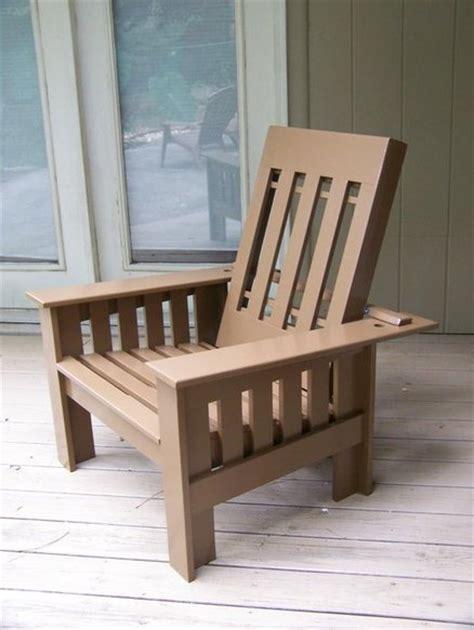 woodwork morris chair plans outdoor  plans