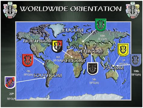 special forces group airborne command operations