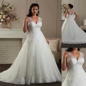 cheap plus size bridesmaid dresses 50 discount plus size wedding dresses 2016 cap sleeves a line white tulle appliques lace sweetheart