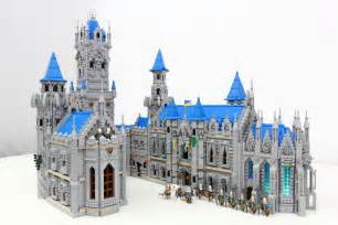 townhouse designs and floor plans the blue castle an epic lego moc