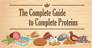 A Guide To Complete Proteins Swanson Health Products