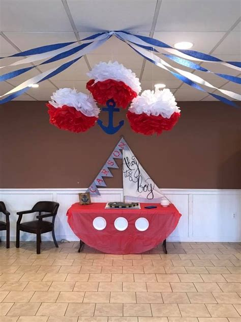 Ideas Nautical Theme by Nautical Baby Shower Baby Showers In 2019 Baby Shower