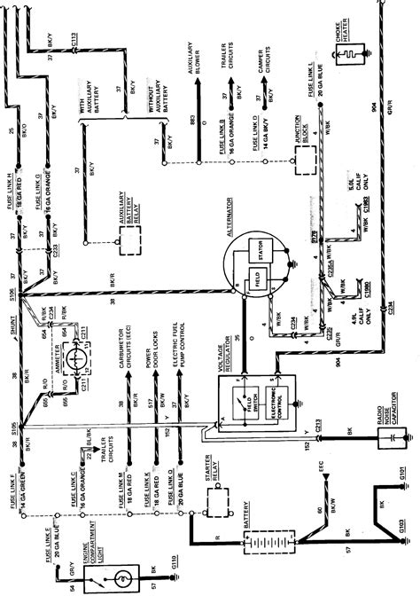 Need Charging System Wiring Diagram For Ford