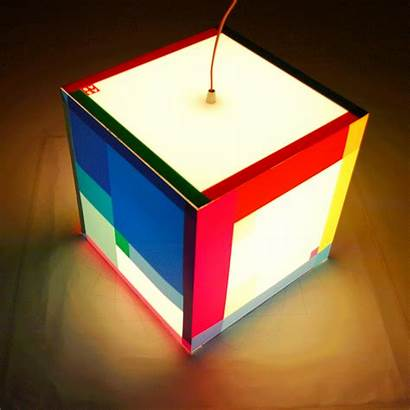 Cube Lighting Colorful Lamp Table Bedroom Special15