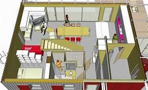 Maison Bioclimatique Passive : plan maison bioclimatique gratuit ~ Melissatoandfro.com Idées de Décoration
