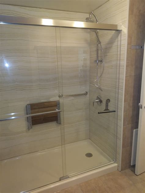 walk  shower installations barrier  home smart