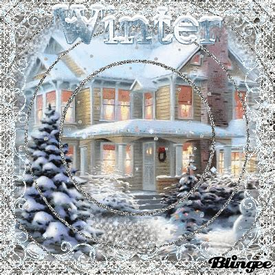 winter house picture  blingeecom