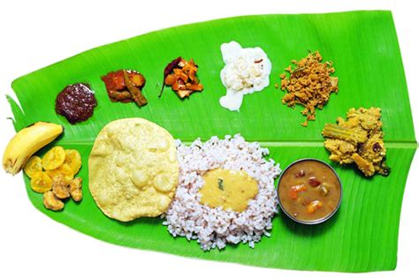Kerala Cuisine, One Of Kerala's Popular Attractions Is Its