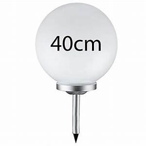 Solarkugel 40 Cm : grafner solarkugel 50 cm led mit erdspie ~ Watch28wear.com Haus und Dekorationen