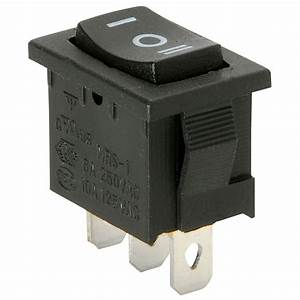 Parts Express Spdt Miniature Momentary Rocker Switch