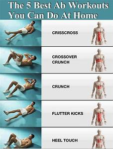 The 5 Best Ab Workouts You Can Do At Home Pictures, Photos, and Images for Facebook, Tumblr