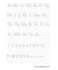 Printable Alphabet Handwriting Practice Worksheets